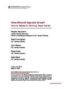 How Should Uganda Grow?