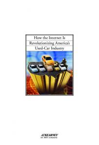 How the Internet Is Revolutionizing America s Used-Car Industry