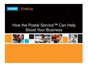 How the Postal Service Can Help Boost Your Business