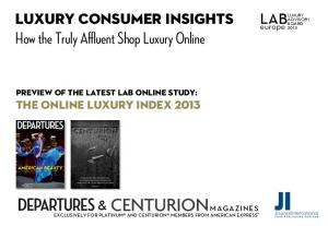 How the Truly Affluent Shop Luxury Online