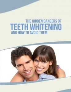 How to avoid hidden dangers of teeth whitening