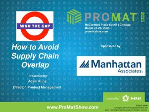 How to Avoid Supply Chain Overlap
