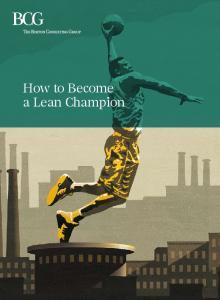 How to Become a Lean Champion