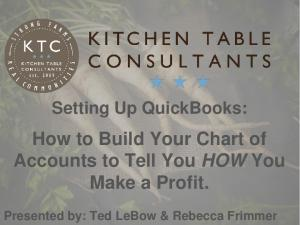 How to Build Your Chart of Accounts to Tell You HOW You Make a Profit
