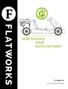 HOW TO BUILD YOUR PLYFLY GO-KART!