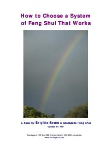 How to Choose a System of Feng Shui That Works