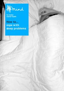 How to... cope with sleep problems