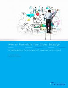 How to Formulate Your Cloud Strategy