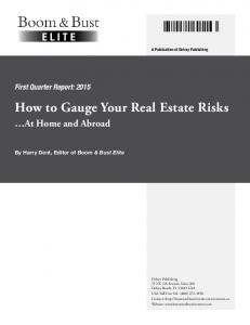 How to Gauge Your Real Estate Risks