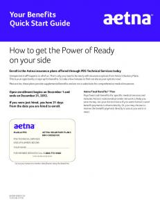 How to get the Power of Ready on your side