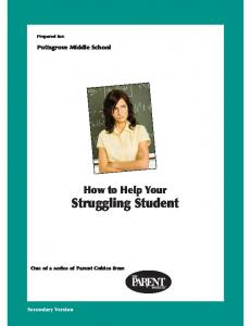 How to Help Your Struggling Student