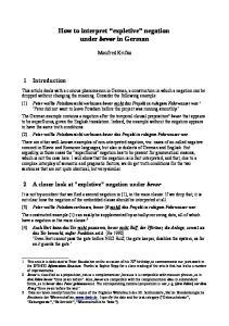 How to interpret expletive negation under bevor in German