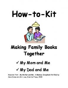How-to-Kit Making Family Books Together