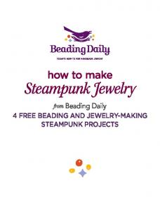 how to make Steampunk Jewelry from Beading Daily 4 Free beading and Jewelry-making steampunk projects