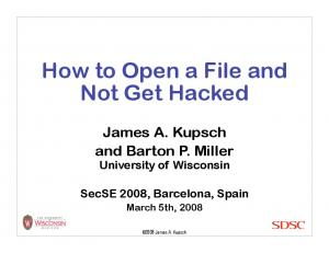 How to Open a File and Not Get Hacked