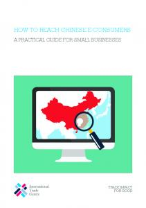 HOW TO REACH CHINESE E-CONSUMERS