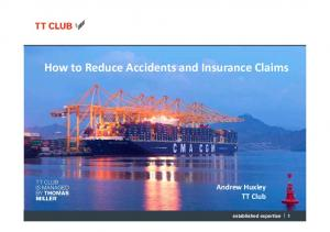 How to Reduce Accidents and Insurance Claims