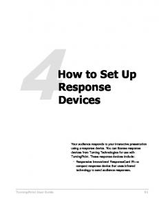 How to Set Up Response Devices