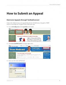 How to Submit an Appeal