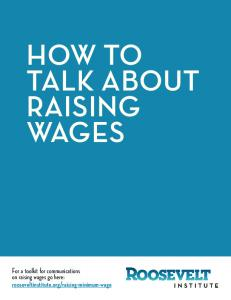 HOW TO TALK ABOUT RAISING