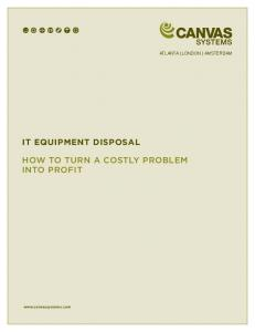 how to turn a costly problem into profit