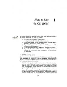 How to Use the CD-ROM