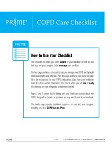 How to Use Your Checklist