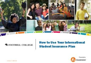 How to Use Your International Student Insurance Plan