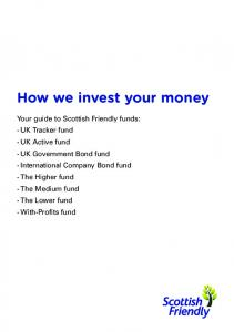 How we invest your money