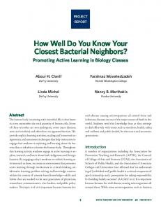 How Well Do You Know Your Closest Bacterial Neighbors?