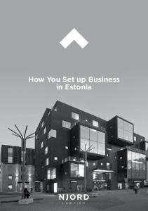 How You Set up Business in Estonia