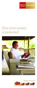 How your money is protected