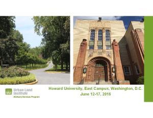 Howard University, East Campus, Washington, D.C. June 12-17, 2016