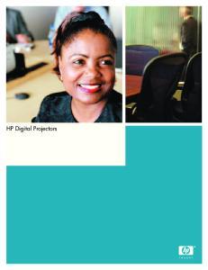 HP Digital Projectors