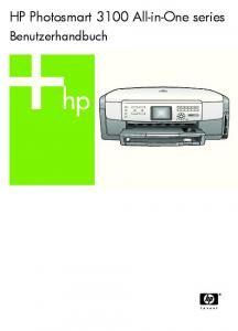 HP Photosmart 3100 All-in-One series