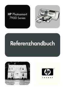HP Photosmart 7900 Series. Referenzhandbuch