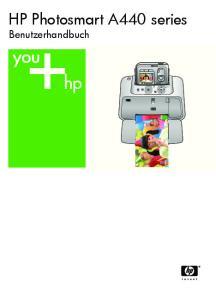 HP Photosmart A440 series. Benutzerhandbuch