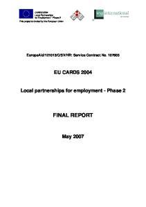 HR: Service Contract No