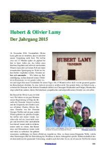 Hubert & Olivier Lamy