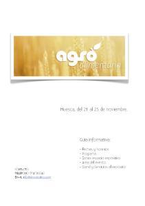 Huesca, del 21 al 23 de noviembre