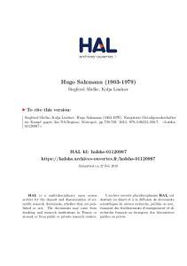 Hugo Salzmann ( )
