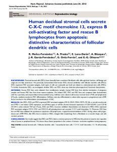 Hum. Reprod. Advance Access published June 20, ORIGINAL ARTICLE Reproductive biology