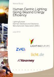 Human Centric Lighting: Going Beyond Energy Efficiency