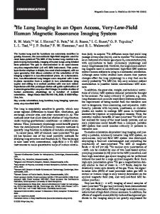 Human Magnetic Resonance Imaging System