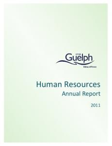 Human Resources Annual Report