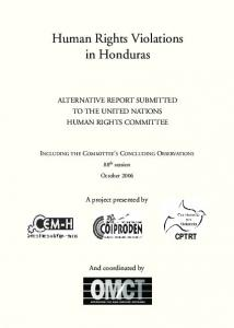 Human Rights Violations in Honduras