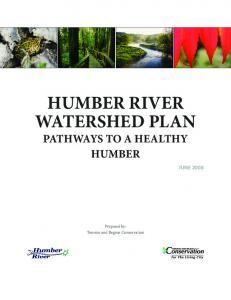 Humber River Watershed Plan