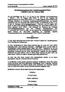Hundesteuersatzung der Landeshauptstadt Erfurt (HStSErf) vom 28. Februar 2005