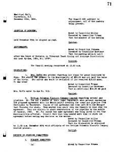 Huntingdon to Vancouver. Copies of the agreement had been left with the Manager