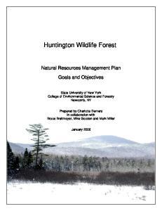 Huntington Wildlife Forest